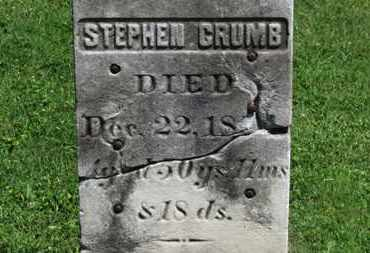 CRUMB, STEPHEN - Morrow County, Ohio | STEPHEN CRUMB - Ohio Gravestone Photos