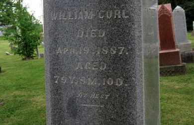 CURL, WILLIAM - Morrow County, Ohio | WILLIAM CURL - Ohio Gravestone Photos