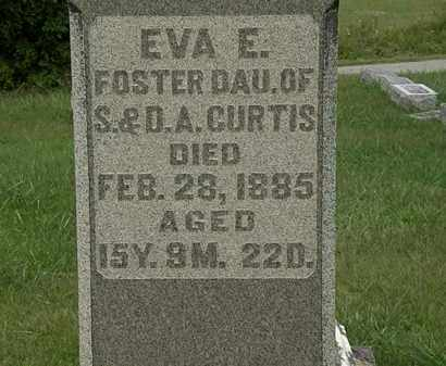 CURTIS, EVA A. - Morrow County, Ohio | EVA A. CURTIS - Ohio Gravestone Photos