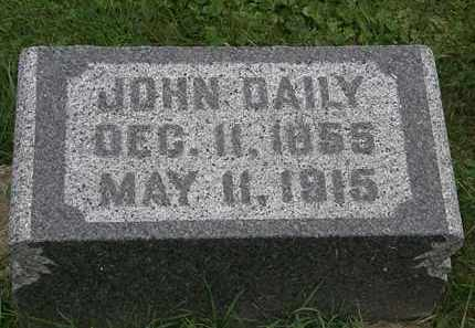 DAILY, JOHN - Morrow County, Ohio | JOHN DAILY - Ohio Gravestone Photos