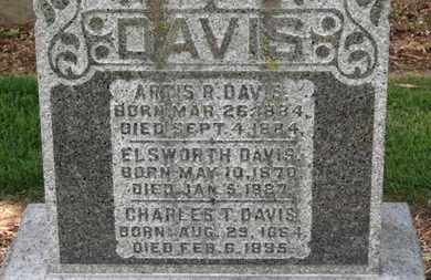 DAVIS, ELSWORTH - Morrow County, Ohio | ELSWORTH DAVIS - Ohio Gravestone Photos