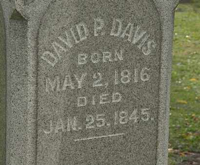 DAVIS, DAVID P. - Morrow County, Ohio   DAVID P. DAVIS - Ohio Gravestone Photos