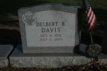 DAVIS, DELBERT B - Morrow County, Ohio | DELBERT B DAVIS - Ohio Gravestone Photos
