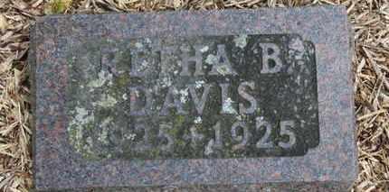 DAVIS, RETHA B. - Morrow County, Ohio | RETHA B. DAVIS - Ohio Gravestone Photos