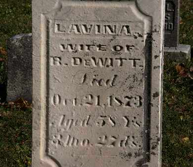 DEWITT, LAVINA - Morrow County, Ohio | LAVINA DEWITT - Ohio Gravestone Photos