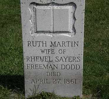 DODD, RUTH - Morrow County, Ohio | RUTH DODD - Ohio Gravestone Photos