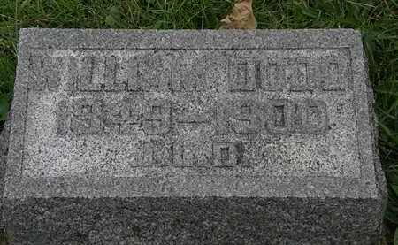 DODD, WILLIAM - Morrow County, Ohio | WILLIAM DODD - Ohio Gravestone Photos