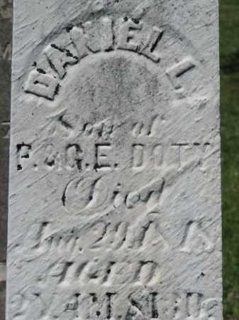 DOTY, DANIEL L. - Morrow County, Ohio | DANIEL L. DOTY - Ohio Gravestone Photos