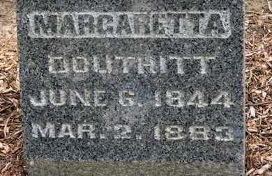 DOUTHITT, MARGARETTA - Morrow County, Ohio | MARGARETTA DOUTHITT - Ohio Gravestone Photos