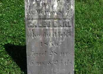 EARL, CALEB - Morrow County, Ohio | CALEB EARL - Ohio Gravestone Photos