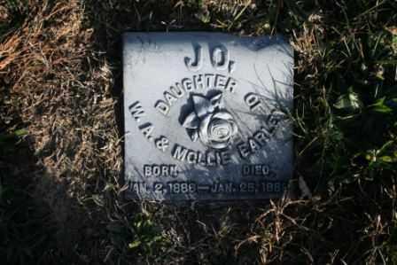 EARLEY, JO - Morrow County, Ohio   JO EARLEY - Ohio Gravestone Photos