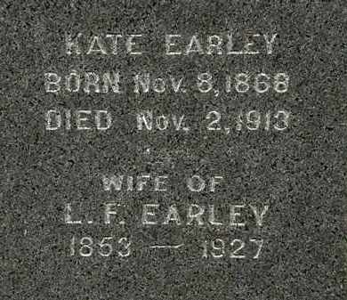 EARLEY, L.F. - Morrow County, Ohio | L.F. EARLEY - Ohio Gravestone Photos
