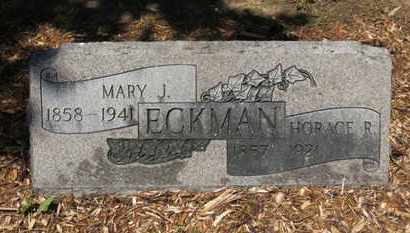 ECKMAN, MARY J. - Morrow County, Ohio | MARY J. ECKMAN - Ohio Gravestone Photos
