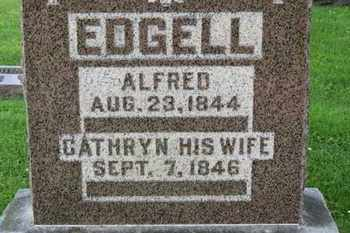 EDGELL, CATHRYNN - Morrow County, Ohio | CATHRYNN EDGELL - Ohio Gravestone Photos