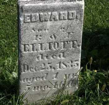 ELLIOTT, EDWARD - Morrow County, Ohio | EDWARD ELLIOTT - Ohio Gravestone Photos