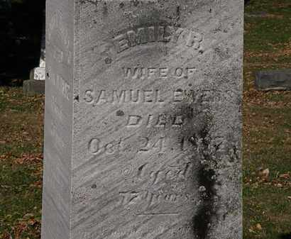 EWERS, EMILY R. - Morrow County, Ohio | EMILY R. EWERS - Ohio Gravestone Photos