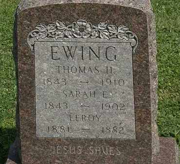 EWING, LEROY - Morrow County, Ohio | LEROY EWING - Ohio Gravestone Photos