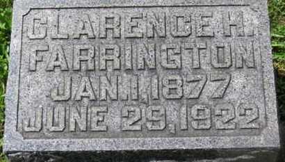 FARRINGTON, CLARENCE H. - Morrow County, Ohio | CLARENCE H. FARRINGTON - Ohio Gravestone Photos