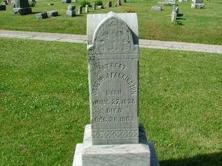 FARRINGTON, JOSEPH JOHN - Morrow County, Ohio | JOSEPH JOHN FARRINGTON - Ohio Gravestone Photos