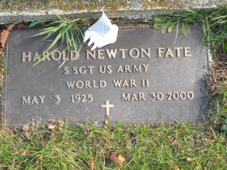 FATE, HAROLD NEWTON - Morrow County, Ohio | HAROLD NEWTON FATE - Ohio Gravestone Photos