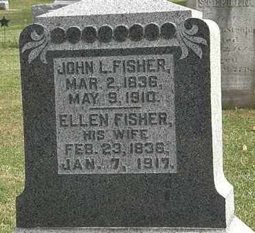 FISHER, JOHN L. - Morrow County, Ohio | JOHN L. FISHER - Ohio Gravestone Photos