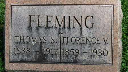 FLEMING, FLORENCE V. - Morrow County, Ohio | FLORENCE V. FLEMING - Ohio Gravestone Photos
