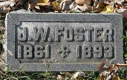 FOSTER, J.W. - Morrow County, Ohio | J.W. FOSTER - Ohio Gravestone Photos