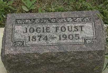 FOUST, JOCIE - Morrow County, Ohio   JOCIE FOUST - Ohio Gravestone Photos