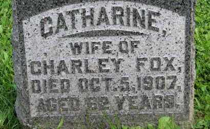 FOX, CHARLEY - Morrow County, Ohio | CHARLEY FOX - Ohio Gravestone Photos