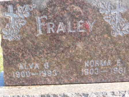 FRALEY, ALVA O - Morrow County, Ohio | ALVA O FRALEY - Ohio Gravestone Photos