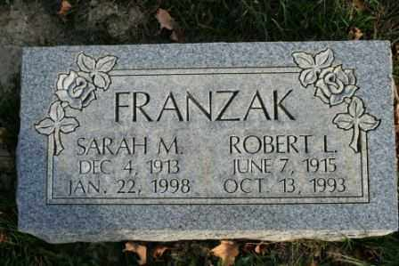 FRANZAK, ROBERT L - Morrow County, Ohio | ROBERT L FRANZAK - Ohio Gravestone Photos