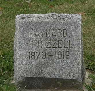 FRIZZELL, MAYNARD - Morrow County, Ohio | MAYNARD FRIZZELL - Ohio Gravestone Photos