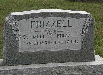 FRIZZELL, W. MELL - Morrow County, Ohio | W. MELL FRIZZELL - Ohio Gravestone Photos