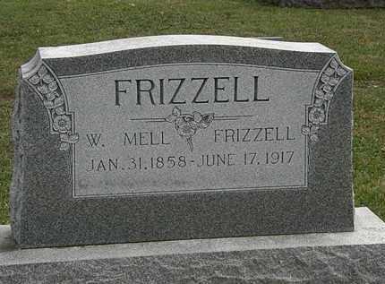 FRIZZELL, W. MELL - Morrow County, Ohio | W. MELL FRIZZELL - Ohio Gravestone Photos