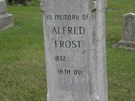 FROST, ALFRED - Morrow County, Ohio | ALFRED FROST - Ohio Gravestone Photos