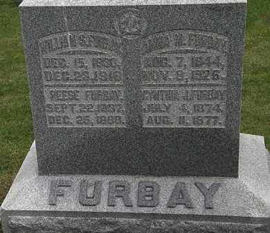 FURBAY, ANNA M. - Morrow County, Ohio | ANNA M. FURBAY - Ohio Gravestone Photos