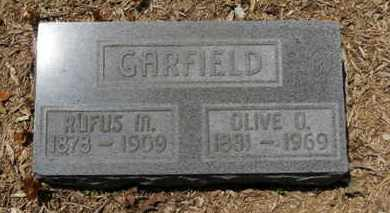 GARFELD, OLIVE O. - Morrow County, Ohio | OLIVE O. GARFELD - Ohio Gravestone Photos