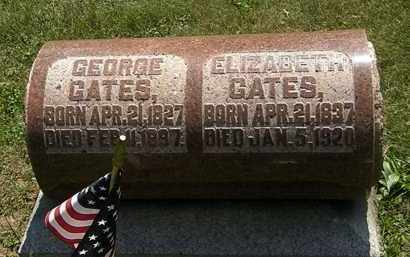 GATES, GEORGE - Morrow County, Ohio | GEORGE GATES - Ohio Gravestone Photos