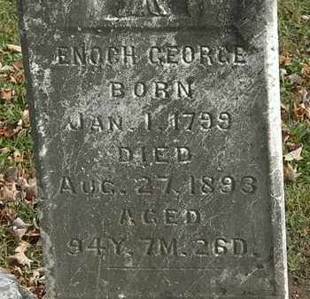 GEORGE, ENOCH - Morrow County, Ohio | ENOCH GEORGE - Ohio Gravestone Photos