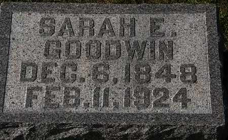 GOODWIN, SARAH E. - Morrow County, Ohio | SARAH E. GOODWIN - Ohio Gravestone Photos