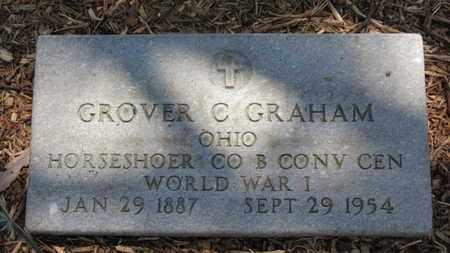 GRAHAM, GROVER C. - Morrow County, Ohio | GROVER C. GRAHAM - Ohio Gravestone Photos