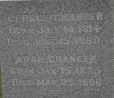 GRANGER, ADAH - Morrow County, Ohio | ADAH GRANGER - Ohio Gravestone Photos
