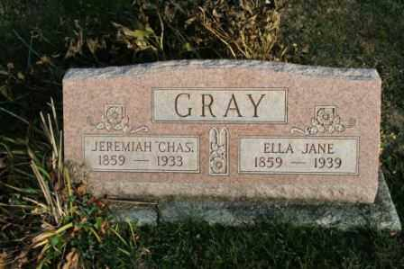 GRAY, ELLA JANE - Morrow County, Ohio | ELLA JANE GRAY - Ohio Gravestone Photos