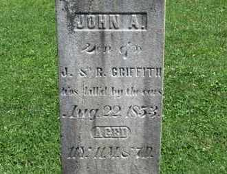 GRIFFITH, JOHN A. - Morrow County, Ohio | JOHN A. GRIFFITH - Ohio Gravestone Photos