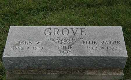 GROVE, JOHN W. - Morrow County, Ohio | JOHN W. GROVE - Ohio Gravestone Photos