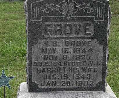 GROVE, HARRIETT - Morrow County, Ohio | HARRIETT GROVE - Ohio Gravestone Photos