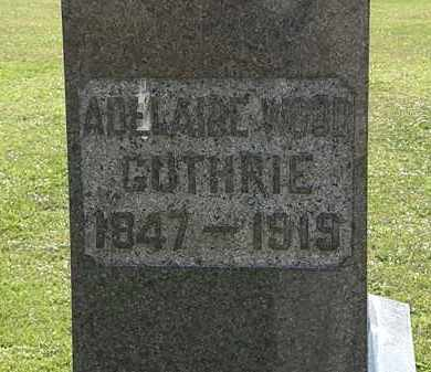 WOOD GUTHRIE, ADELAIDE - Morrow County, Ohio | ADELAIDE WOOD GUTHRIE - Ohio Gravestone Photos