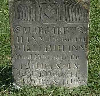 HAHN, WILLIAM - Morrow County, Ohio | WILLIAM HAHN - Ohio Gravestone Photos