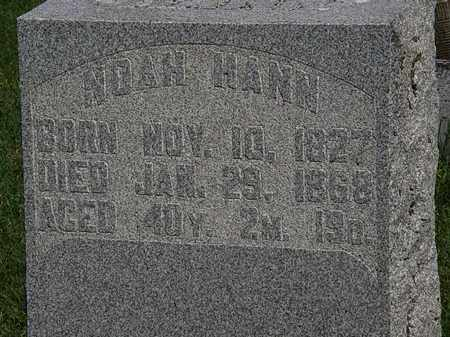 HAHN, NOAH - Morrow County, Ohio | NOAH HAHN - Ohio Gravestone Photos