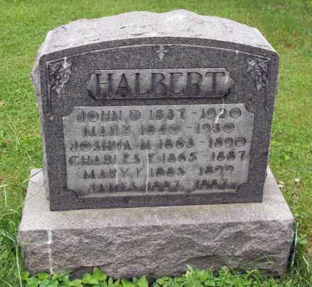 HALBERT, MARY F. - Morrow County, Ohio | MARY F. HALBERT - Ohio Gravestone Photos